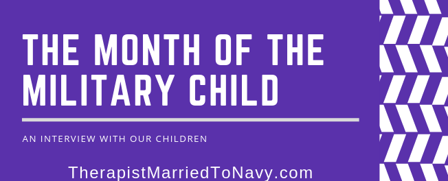 The Month Of The Military Child: An Interview With Our Five Girls