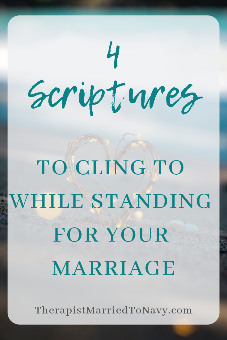 Four scriptures for your marriage